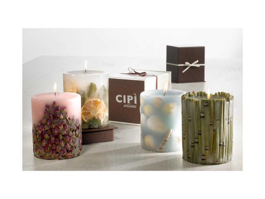 Candele grace cip design ed accessori per la stanza - Candele da bagno ...