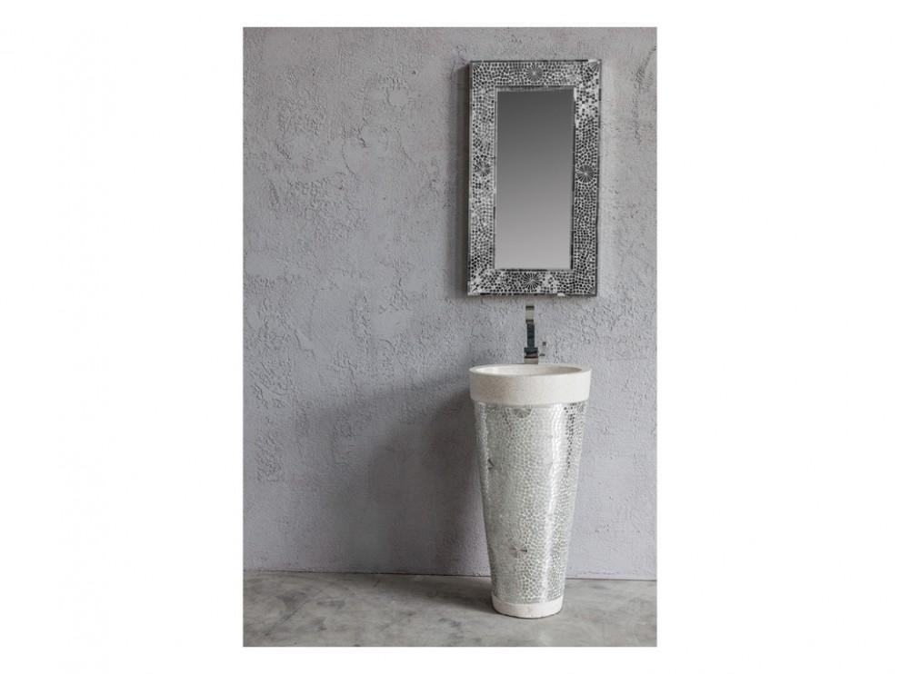 Stand up mosaico specchi cip design ed accessori per la stanza da bagno - Lavandini da bagno ...