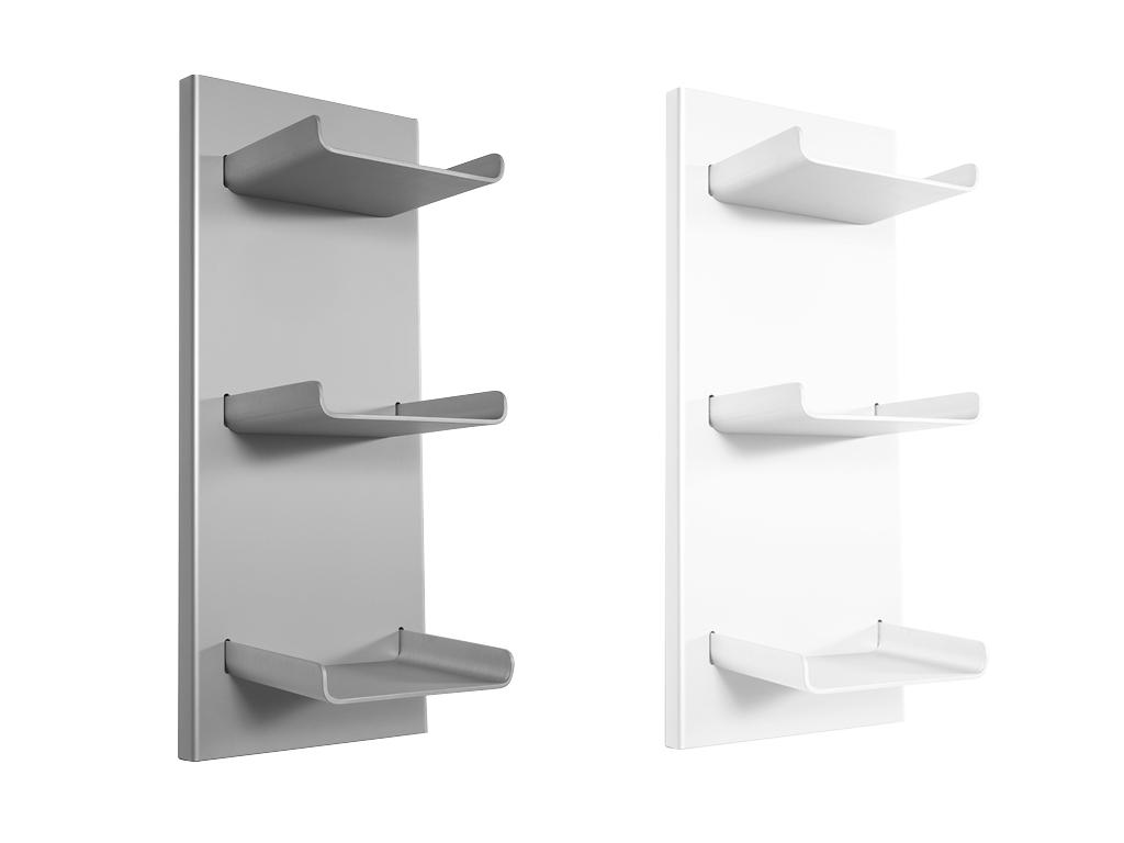 Mensola trio cipì design ed accessori per la stanza da bagno