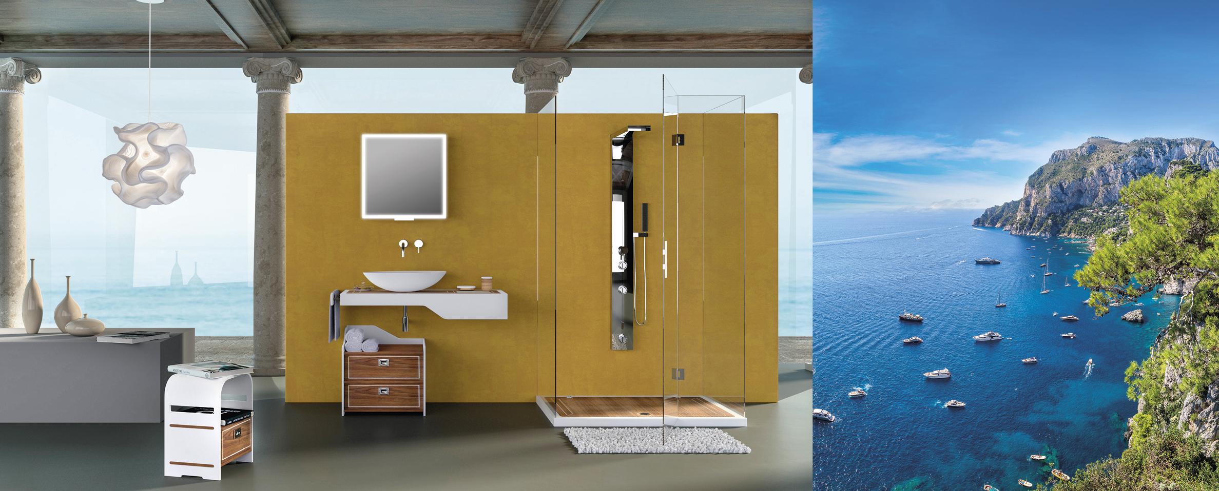 Aqua Mood Mobili Bagno.Aquateak Cipi Design Ed Accessori Per La Stanza Da Bagno