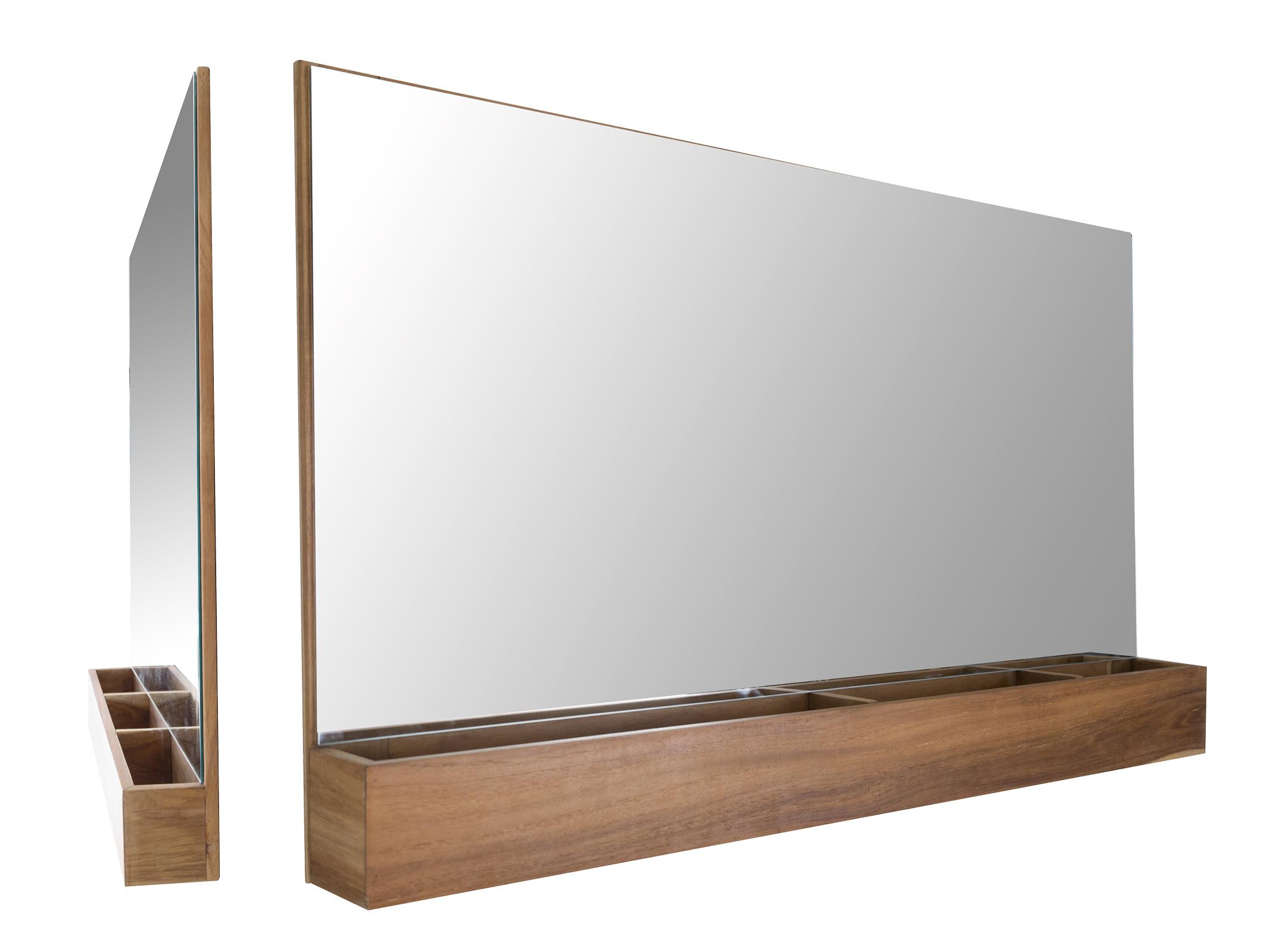 Pratico specchio large cip design ed accessori per la stanza da bagno - Specchio diamond riflessi prezzo ...