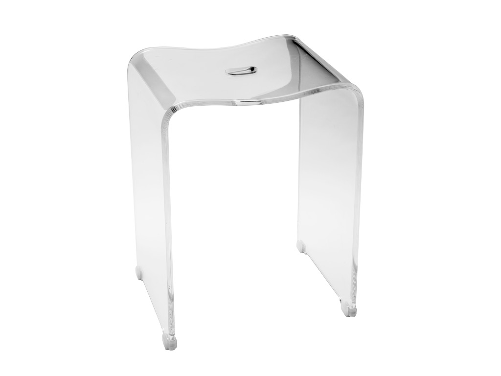 Ghost sgabello cip design ed accessori per la stanza for Sgabello per il bagno