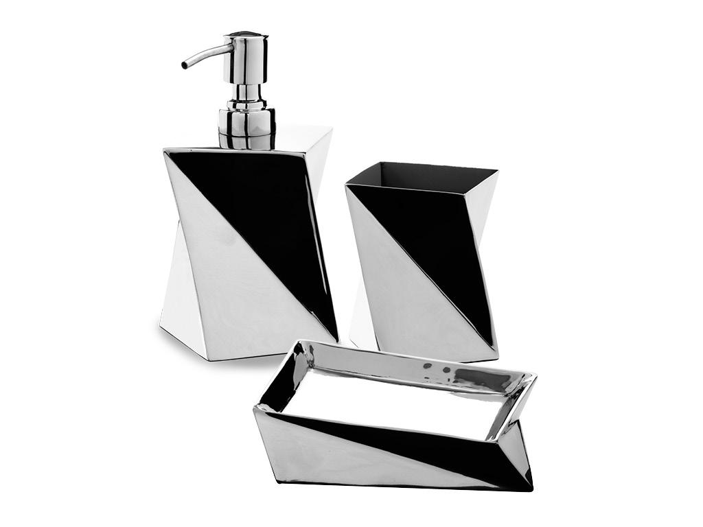 Emejing accessori bagno in acciaio gallery idee arredamento casa - Accessori bagno in acciaio ...