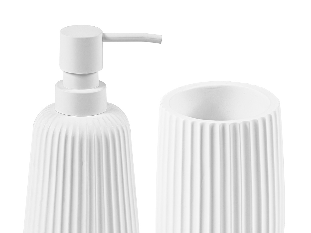 bathroom accessories in poliresin