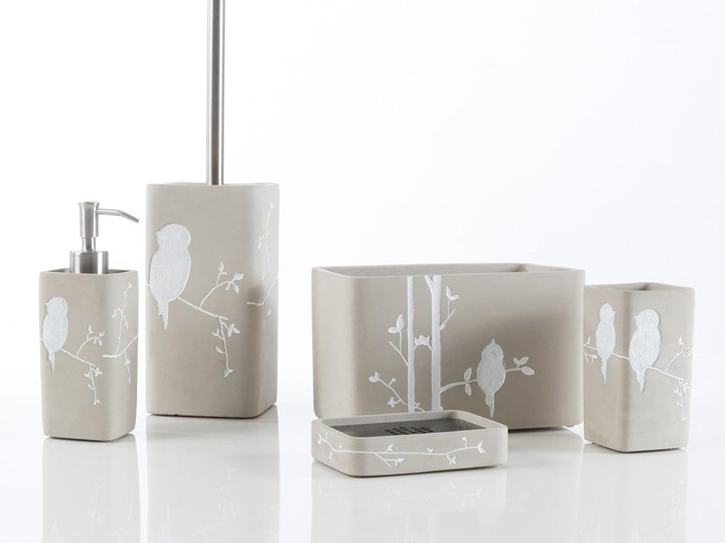 Scopino Da Bagno Design : Birdie cement cipì design ed accessori per la stanza da bagno