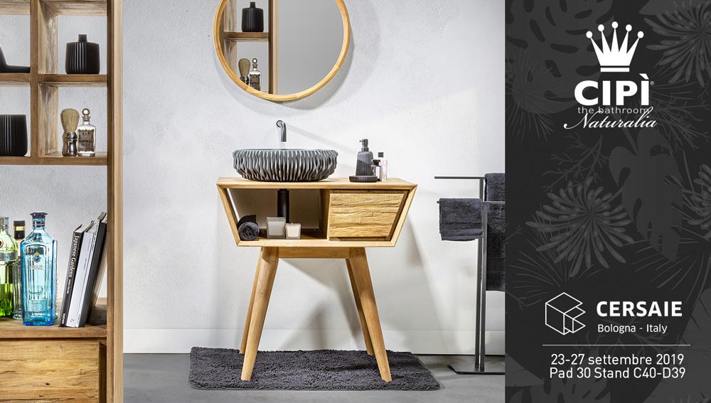 Cersaie 2019 - Cipì Bathroom
