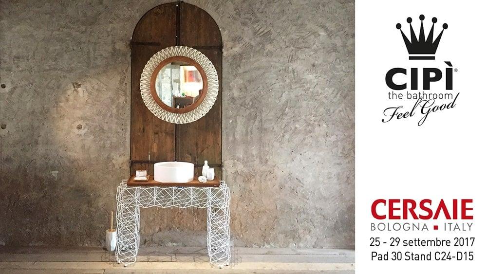 Cersaie 2017 - Cipì Bathroom