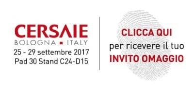 biglietto invito Cersaie 2017