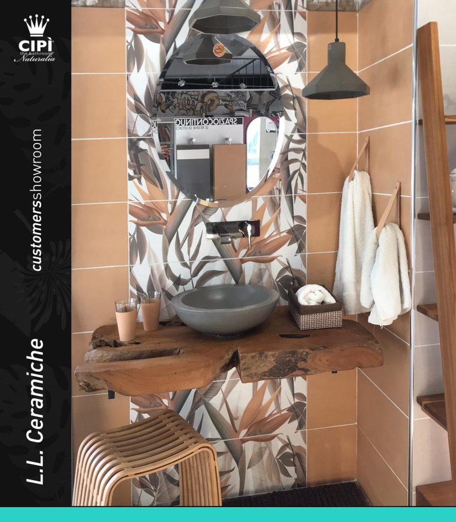 L L. Ceramiche - Orbetello (GR) Showroom della settimana Cipì Bathroom