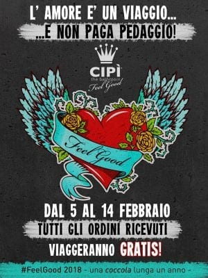 Cipì bathroom - San Valentino 2018